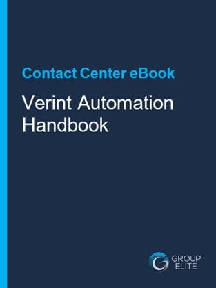 Verint Automation Handbook